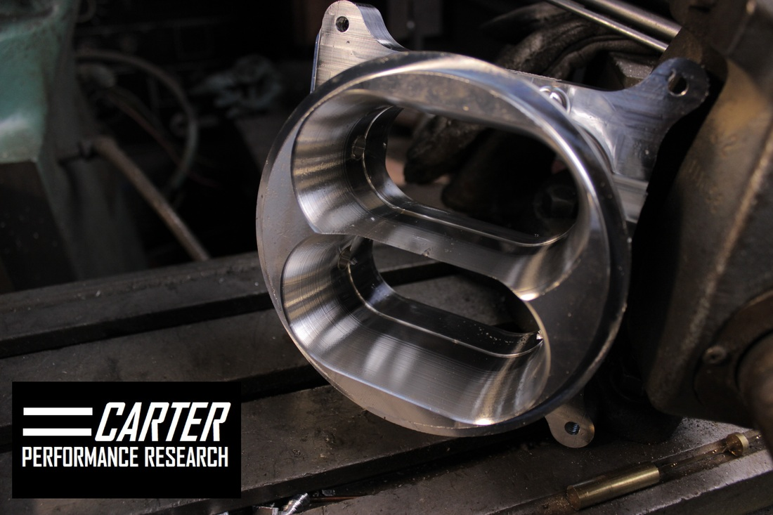 High Flow Two Barrel Throttle Body